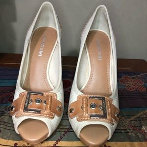 Gianni Bini Buckle Heels